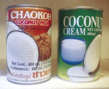 ココナッツミルク