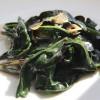 ハンダマ(水前寺菜/金時草)のオイスターソース炒め:レシピ
